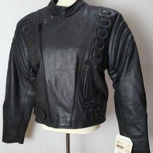 NWT Highway One Women's Medium Leather Moto Jacket